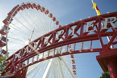 tourist attraction, fair, amusement ride, ferris wheel, amusement park,