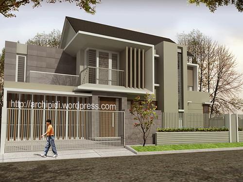 %jasa arsitek desain rumah minimalis Desain Rumah Minimalis Rumah Modern