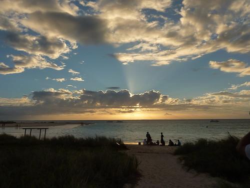 Sundown at Coral Bay, Ningaloo