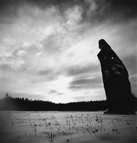 Mother, Salaspils, Latvia, by Michael Kenna 1999