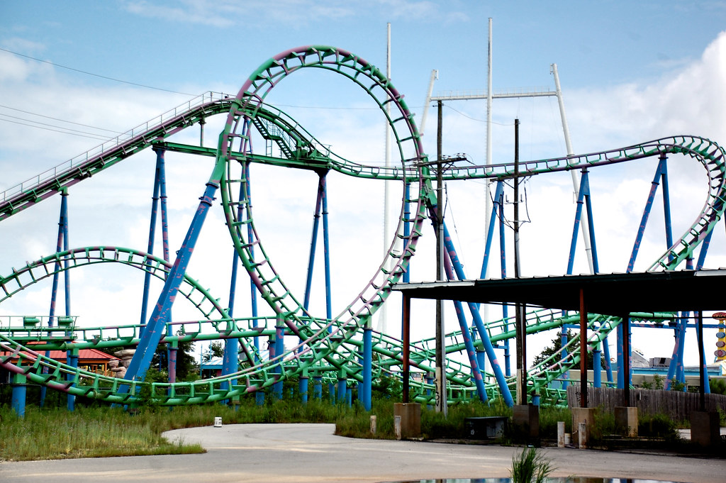 Abandoned Six Flags Theme Park 2