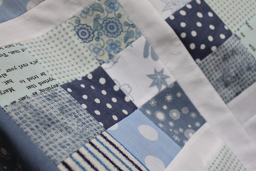 Only Blue quilt - sneak peak