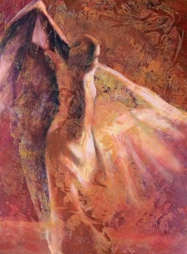 """Szentgyörgyi Erika festőművész """"Flamenco"""" című kiállítása"""