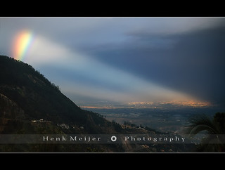 Rainbow hits Quito - Ecuador