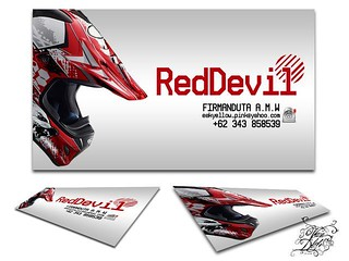 red devil bussines card | by FkeSmle