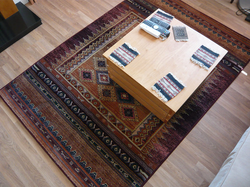New rug | by WordRidden