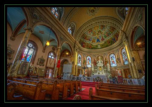 St Charles Borromeo interior