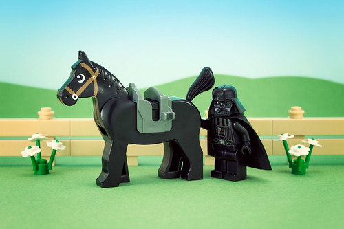 I feel a disturbance in the horse...