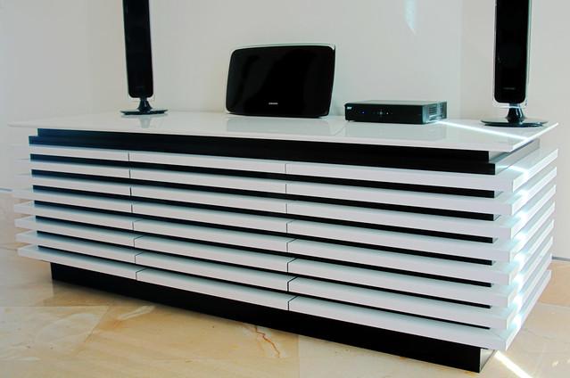 Dise o de muebles mueble para tv mobiliario moderno for Muebles television diseno