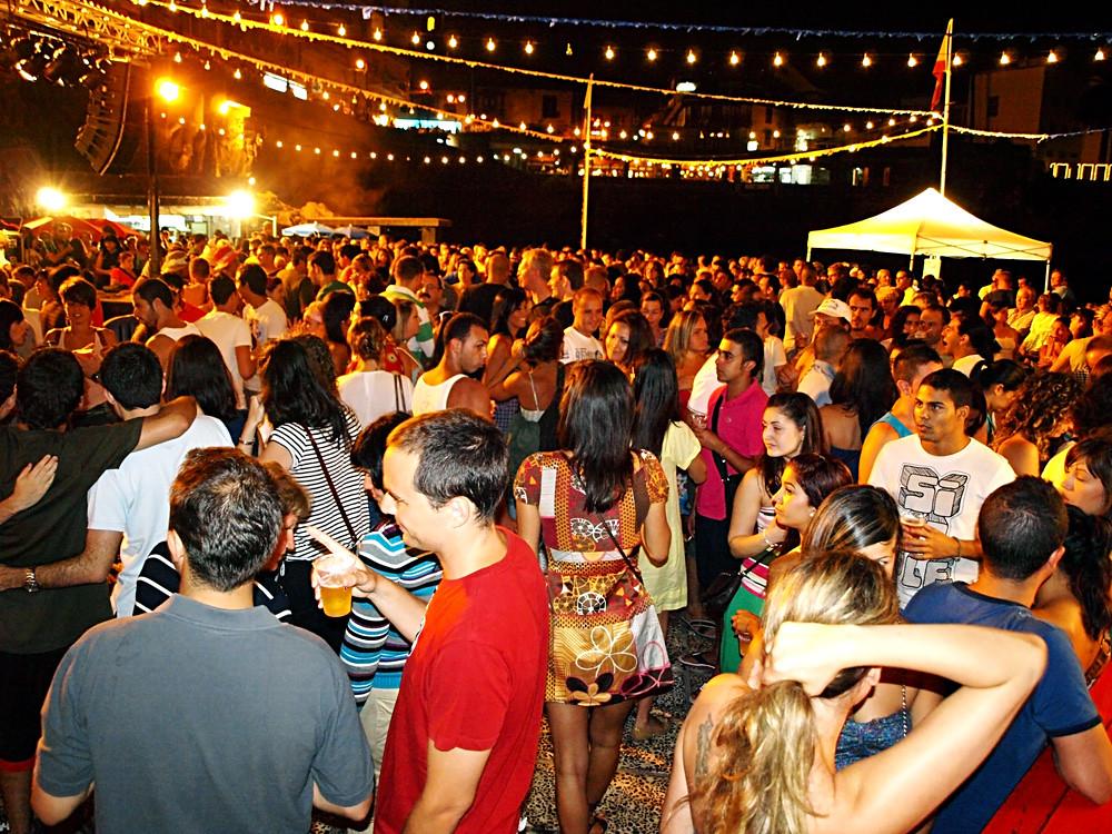Sardinada, July Fiestas, Tenerife 2010