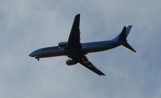 Thomson passenger jet
