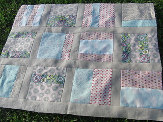 Girly Girl Quilt, Rows 1-3