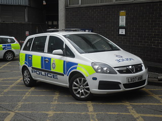 British Transport Police car