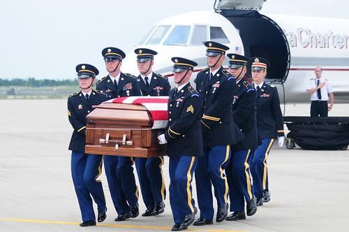 U.S. Army Spc. Keenan Cooper Remains Arrive in North Dakota