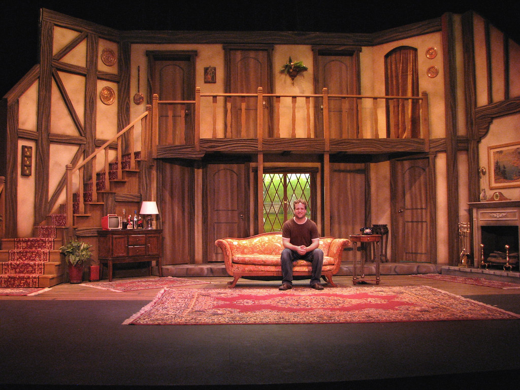 Quot Noises Off Quot Set I Designed And Built A Photo On Flickriver