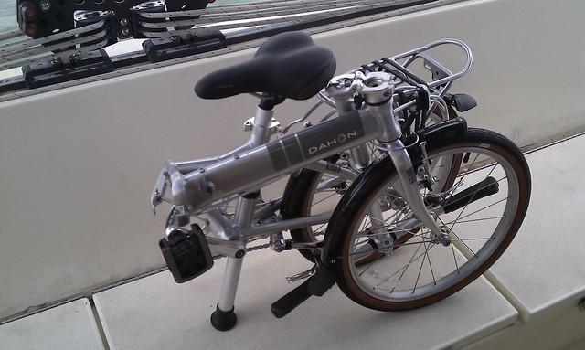 Bike, folded
