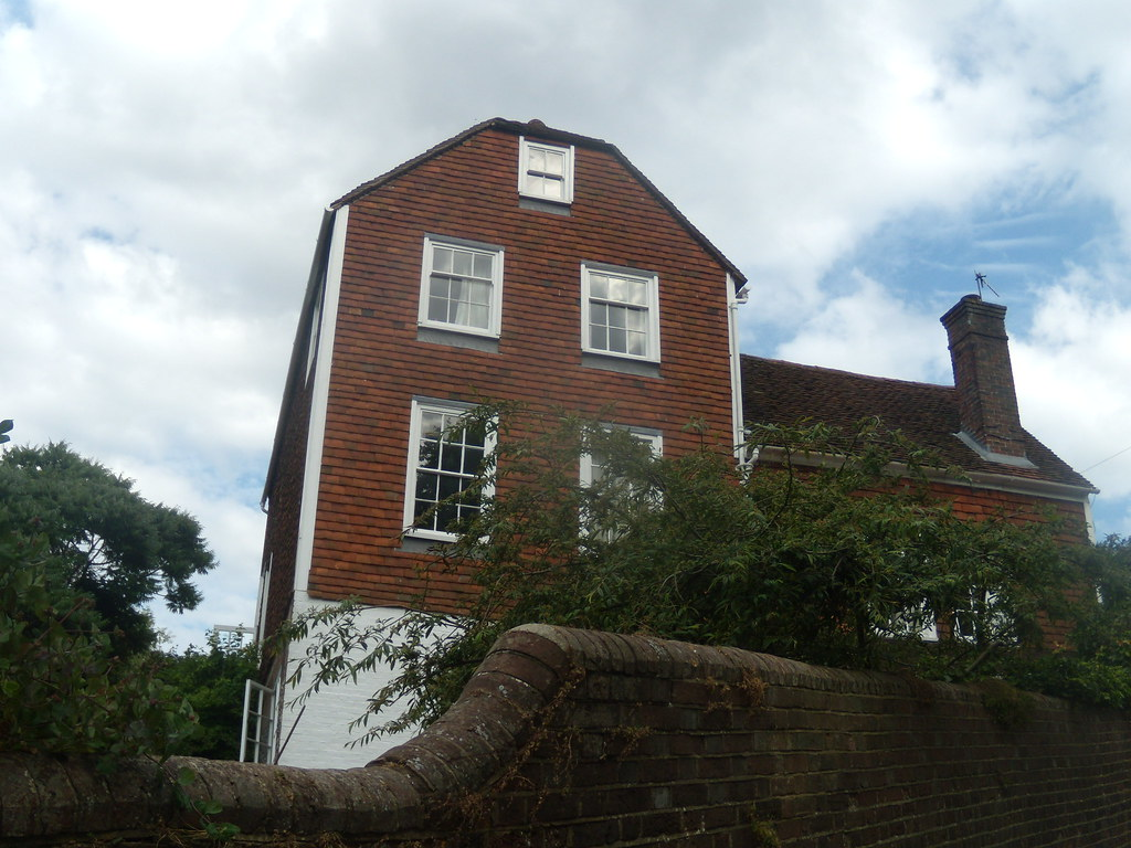 Old house, Lewes Hassocks to Lewes