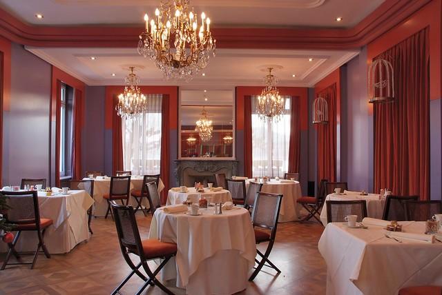 Salon Alabama/petit-déjeuner Hotel de la Paix Genève - Alabama Salon breakfast at Hotel de la Paix Geneva