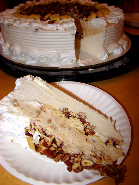 Blizzard Ice Cream Cake Recipe