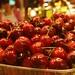Fresh, Boxed Cherries at La Boqueria Market, Barcelona