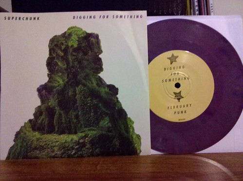 "Superchunk - Digging For Something 7"" - Purple Vinyl /1000 by factportugal"