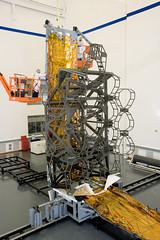 James Webb Space Telescope Backplane full-size mock-up