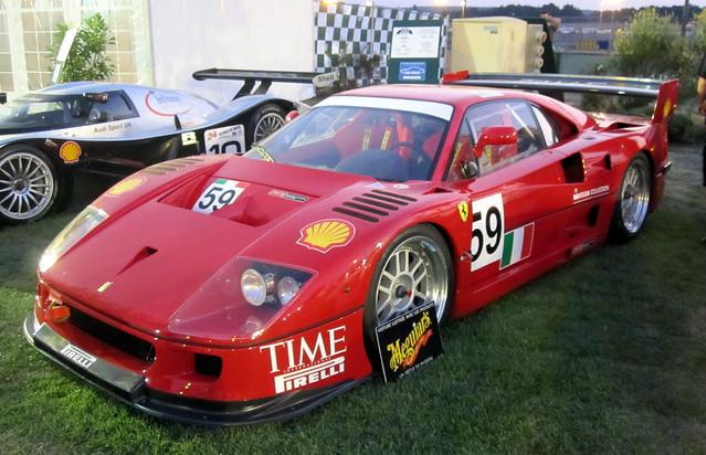 Ferrari F40 Gte Group Gt1 1995 Racing Cars
