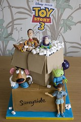 Toy Story 3 Cake for Movie Release!