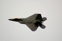 sukhoi su-35bm(0.0), canard(0.0), lockheed martin f-22 raptor(1.0), aviation(1.0), airplane(1.0), wing(1.0), vehicle(1.0), fighter aircraft(1.0), jet aircraft(1.0), air force(1.0),