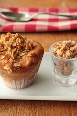 Breakfast Muffins with Peaches