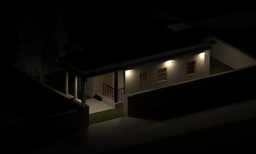house autodesk kerala kochi rendering revit kalamassery