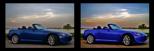car photo editing