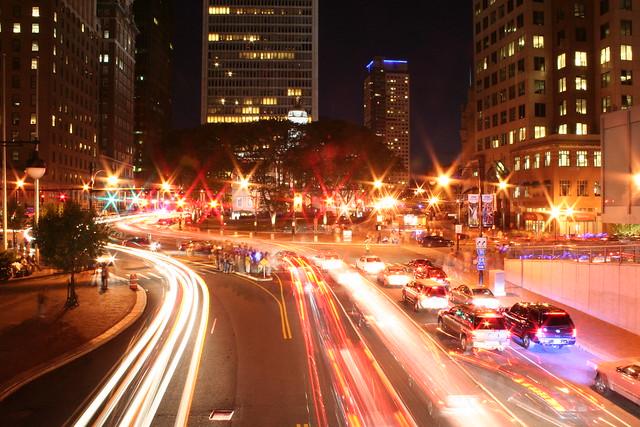Hartford at night - Flickr CC daaggg