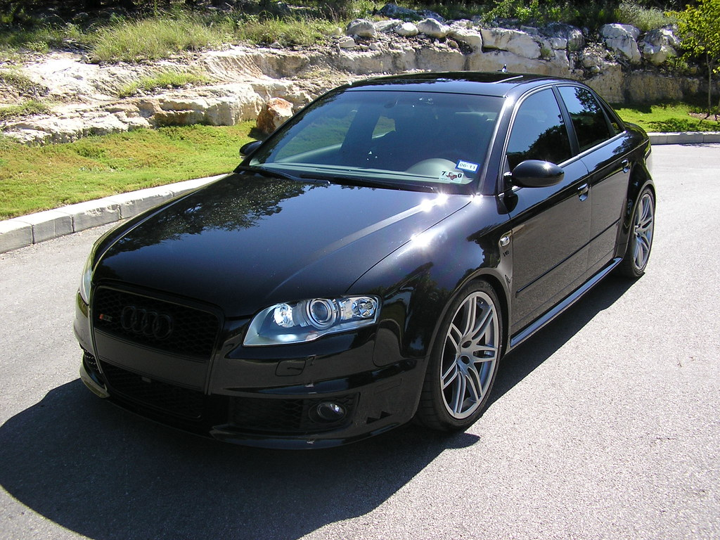 2007 audi rs4 all black w ultimate mods list 6speedonline porsche forum and luxury car. Black Bedroom Furniture Sets. Home Design Ideas