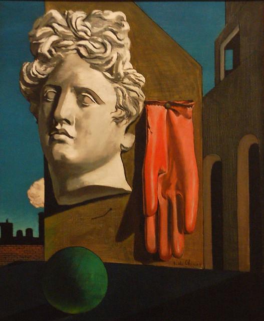 La chanson de l'amour, Giorgio de Chirico