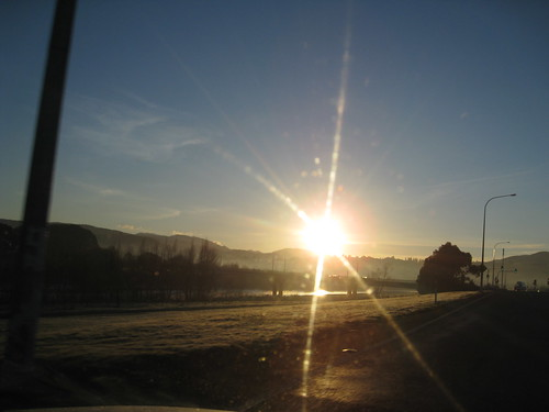 Sunny Winter Morning in Upper Hutt