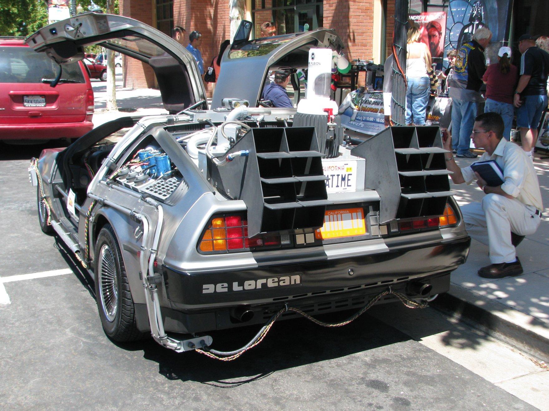1981 Dmc Delorean Time Machine Back To The Future Car 04