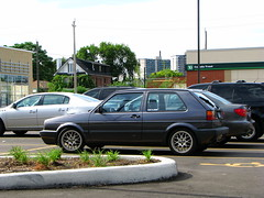 automobile, automotive exterior, wheel, vehicle, volkswagen golf mk2, compact car, bumper, land vehicle, hatchback,