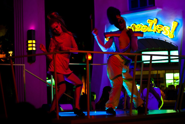 Dancers at Club Glow