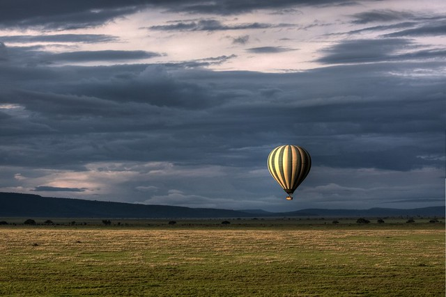 Ballon safari, Serengeti