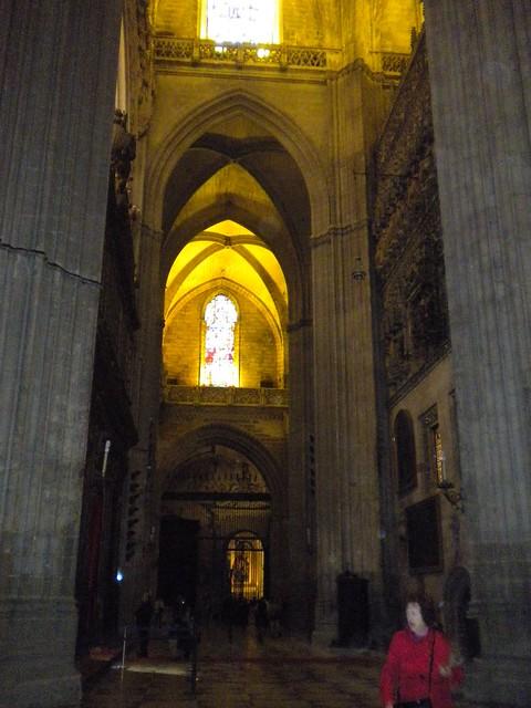 Interior catedral de sevilla flickr photo sharing - Catedral de sevilla interior ...
