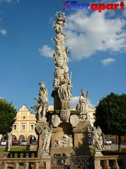 Marian column, Telc, Czech Republic
