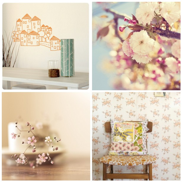 colour palette : just peachy - curated by Emma Lamb