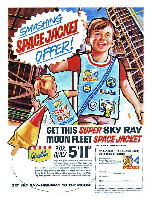 Walls Sky Ray Moon Fleet Jacket Ad 1966