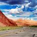 Utah State Road 95 III by Wolfgang Staudt