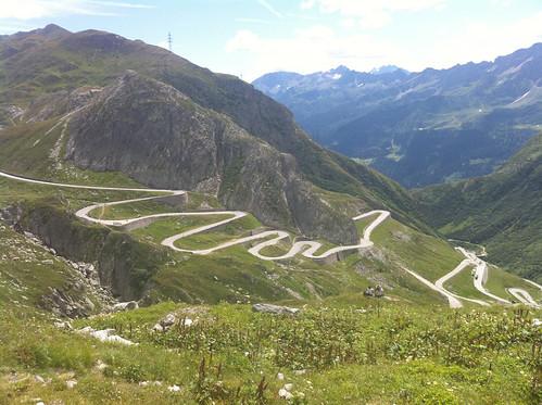 The St Gotthard Pass