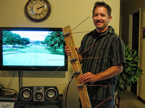 Jeff's Homemade HDTV Antenna