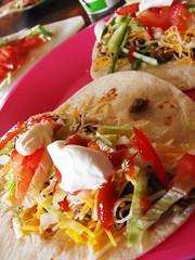 tostada(1.0), meal(1.0), taquito(1.0), seafood(1.0), food(1.0), dish(1.0), cuisine(1.0),