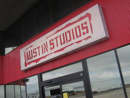Austin Studios Red Building
