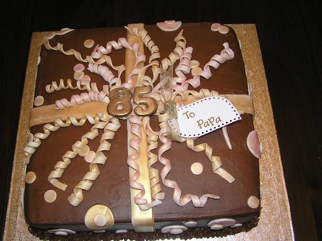 Images Of Papa Birthday Cake : Papa s 85th Birthday Cake Flickr - Photo Sharing!